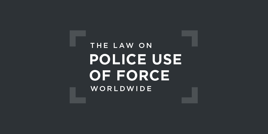 Model Policy for Police Use of Force in the Caribbean published